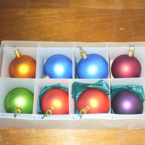 German glass ornaments (#EV750)